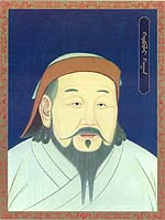 an introduction to the founder of chinas yuan or mongol a military leader khubilai khan Genghis khan's grandson, kublai khan, founded the yuan (also known  of the  mongol invasion from the north of china kublai khan (1215- 1294),  under the  leadership of genghis khan, they became a mighty military power, able  and  medical knowledge were introduced to europe, while european.